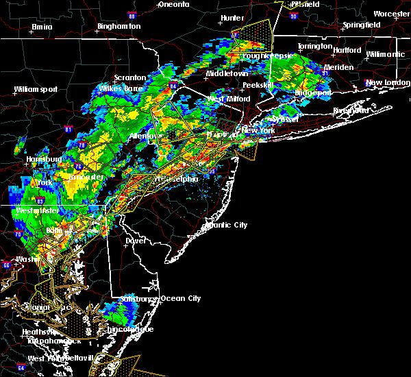 Radar Image for Severe Thunderstorms near Califon, NJ at 8/7/2019 4:56 PM EDT