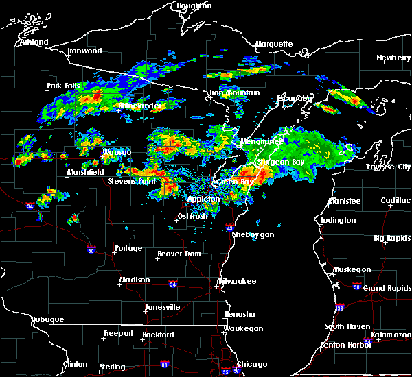 Radar Image for Severe Thunderstorms near Howard, WI at 8/7/2019 5:13 PM CDT