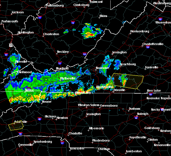 Radar Image for Severe Thunderstorms near Brookneal, VA at 6/21/2015 7:18 PM EDT
