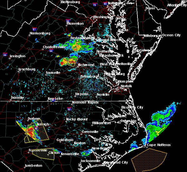 Radar Image for Severe Thunderstorms near Ashland, VA at 8/8/2019 12:25 AM EDT