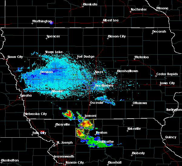 Radar Image for Severe Thunderstorms near Grand River, IA at 6/21/2015 6:43 PM CDT