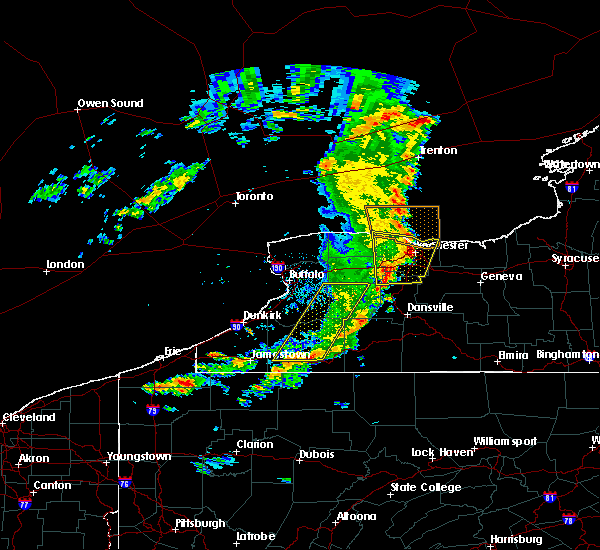 Radar Image for Severe Thunderstorms near Honeoye Falls, NY at 8/8/2019 12:23 PM EDT