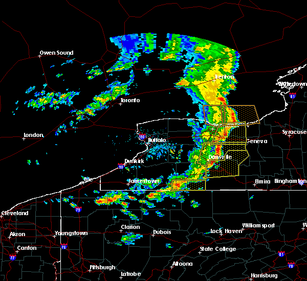 Radar Image for Severe Thunderstorms near Scio, NY at 8/8/2019 12:56 PM EDT