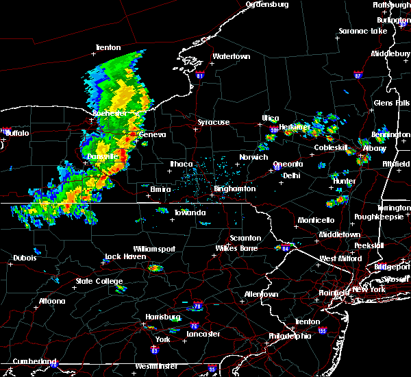 Radar Image for Severe Thunderstorms near Addison, NY at 8/8/2019 1:31 PM EDT
