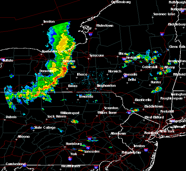 Radar Image for Severe Thunderstorms near Coopers Plains, NY at 8/8/2019 1:57 PM EDT