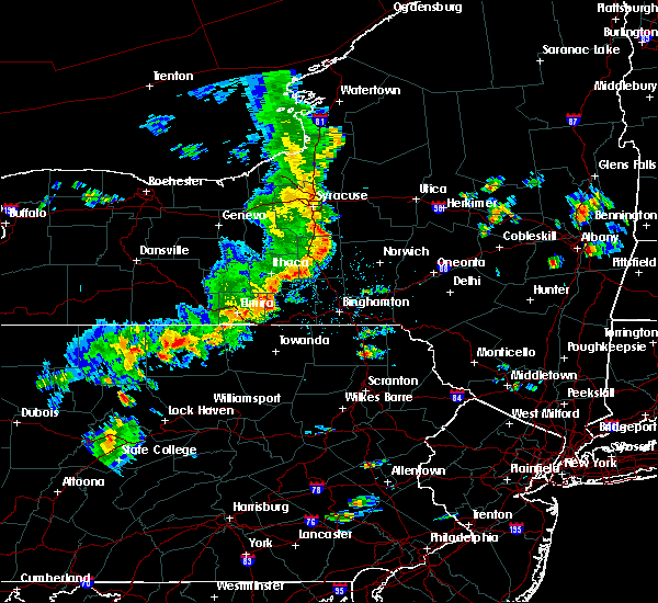Radar Image for Severe Thunderstorms near Fairmount, NY at 8/8/2019 2:47 PM EDT