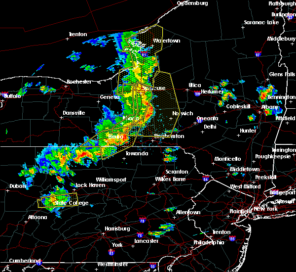 Radar Image for Severe Thunderstorms near Waverly, NY at 8/8/2019 2:55 PM EDT