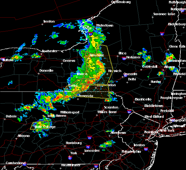Radar Image for Severe Thunderstorms near Oriskany Falls, NY at 8/8/2019 3:16 PM EDT