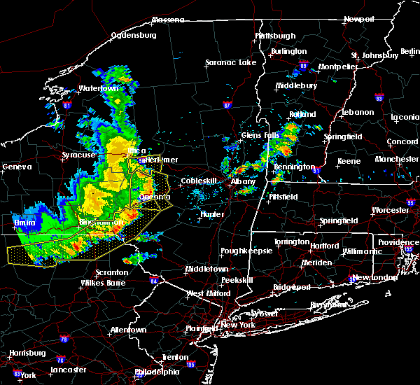 Radar Image for Severe Thunderstorms near Frankfort, NY at 8/8/2019 4:07 PM EDT