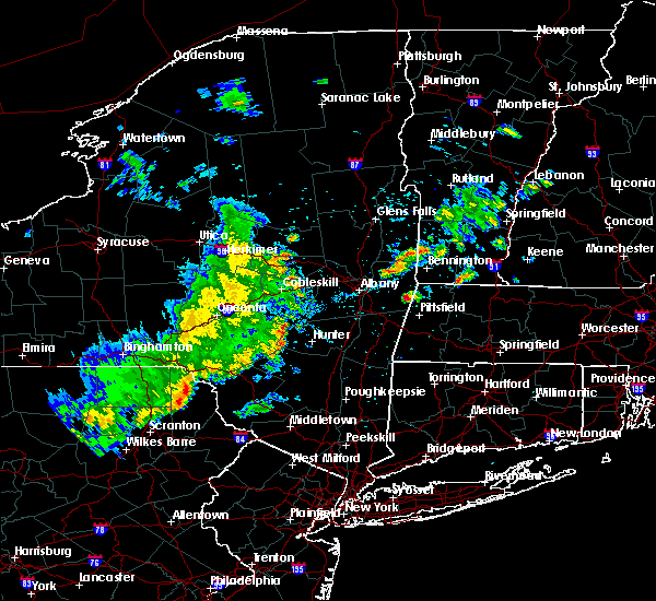Radar Image for Severe Thunderstorms near Tribes Hill, NY at 8/8/2019 4:49 PM EDT
