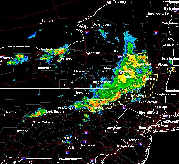 Radar Image for Severe Thunderstorms near Plains, PA at 8/8/2019 5:07 PM EDT