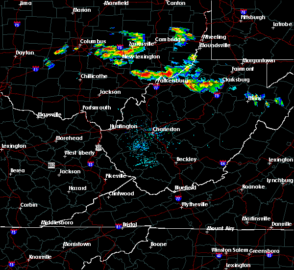 Radar Image for Severe Thunderstorms near Parkersburg, WV at 8/8/2019 5:08 PM EDT