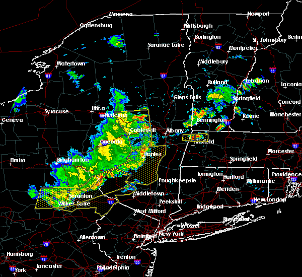 Radar Image for Severe Thunderstorms near Tribes Hill, NY at 8/8/2019 5:16 PM EDT