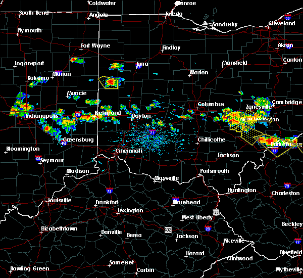 Radar Image for Severe Thunderstorms near Sidney, OH at 8/8/2019 5:18 PM EDT