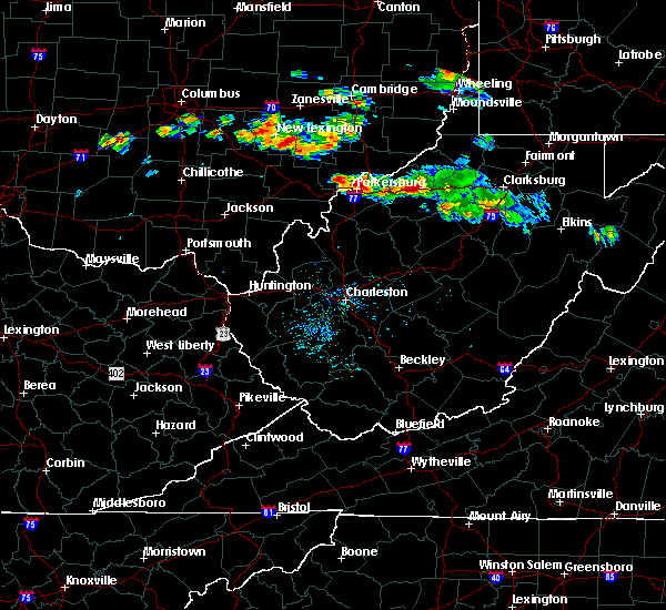 Radar Image for Severe Thunderstorms near Parkersburg, WV at 8/8/2019 5:32 PM EDT