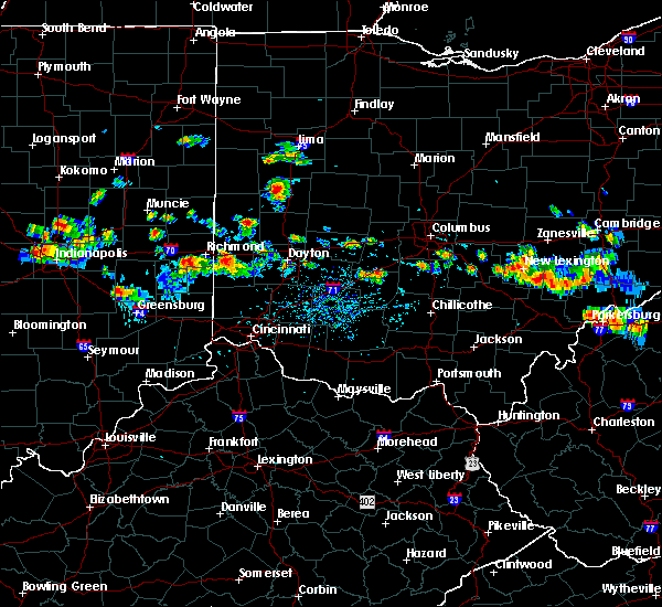 Radar Image for Severe Thunderstorms near Newport, OH at 8/8/2019 5:38 PM EDT