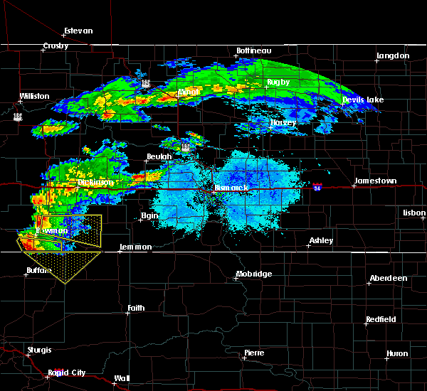 Radar Image for Severe Thunderstorms near Regent, ND at 6/21/2015 6:07 PM MDT