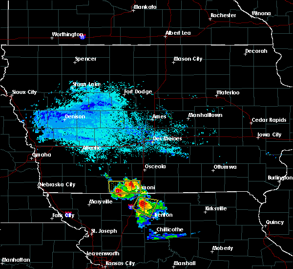 Radar Image for Severe Thunderstorms near Grand River, IA at 6/21/2015 7:09 PM CDT