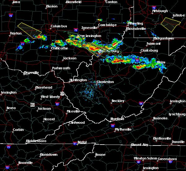 Radar Image for Severe Thunderstorms near Auburn, WV at 8/8/2019 6:24 PM EDT