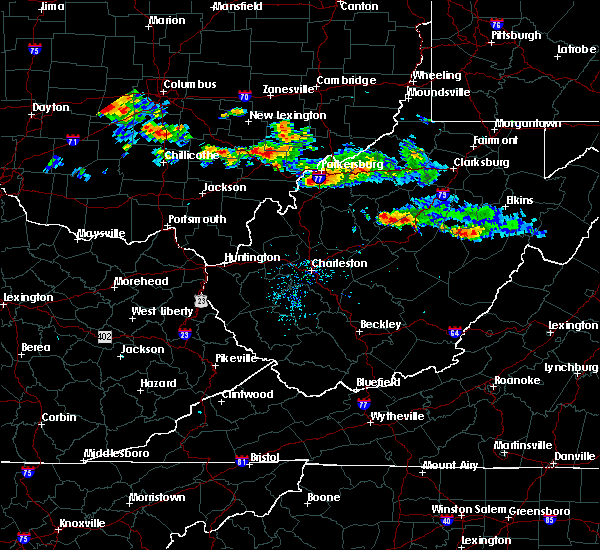 Radar Image for Severe Thunderstorms near Parkersburg, WV at 8/8/2019 6:59 PM EDT