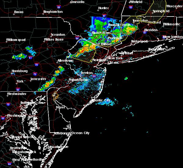 Radar Image for Severe Thunderstorms near Califon, NJ at 8/8/2019 7:04 PM EDT