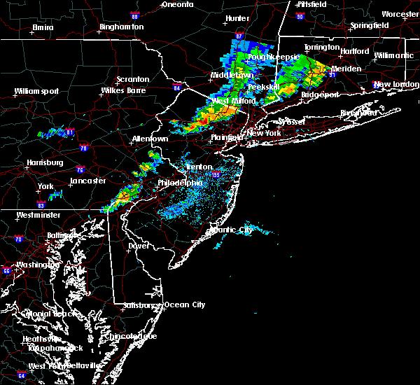 Radar Image for Severe Thunderstorms near Califon, NJ at 8/8/2019 7:27 PM EDT