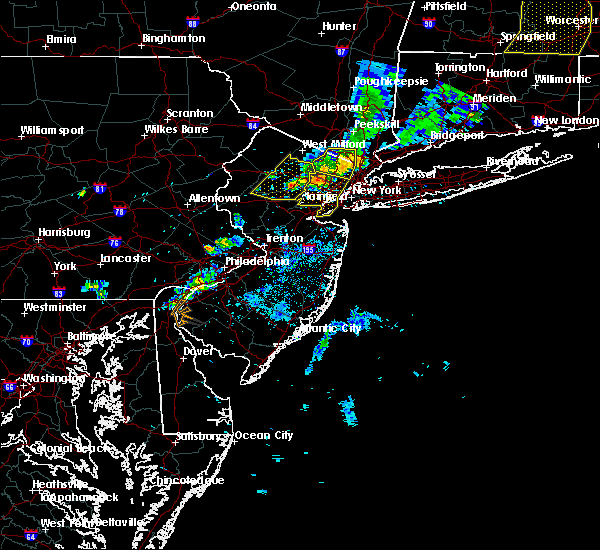 Radar Image for Severe Thunderstorms near Califon, NJ at 8/8/2019 7:42 PM EDT