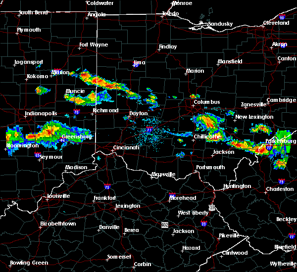 Radar Image for Severe Thunderstorms near Piqua, OH at 8/8/2019 7:53 PM EDT