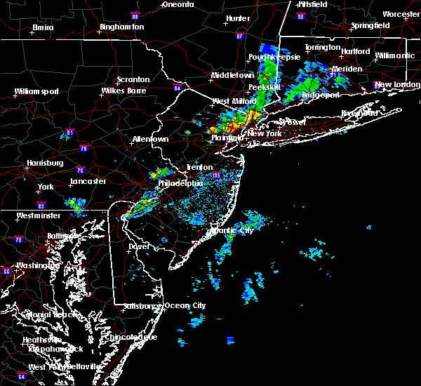Radar Image for Severe Thunderstorms near Roselle Park, NJ at 8/8/2019 7:54 PM EDT