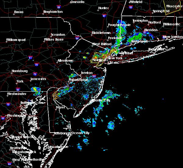 Radar Image for Severe Thunderstorms near Roselle Park, NJ at 8/8/2019 8:02 PM EDT