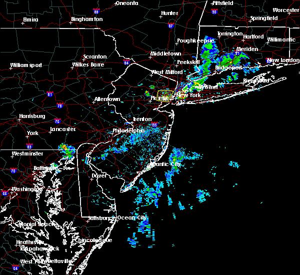 Radar Image for Severe Thunderstorms near Roselle Park, NJ at 8/8/2019 8:18 PM EDT