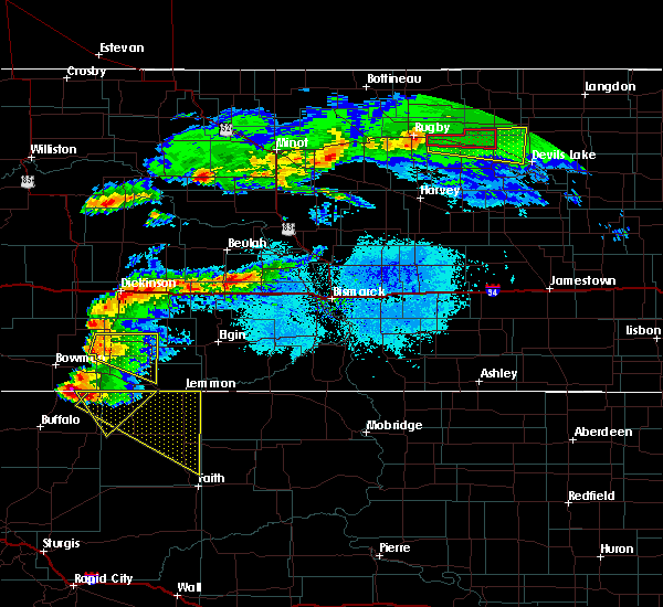 Radar Image for Severe Thunderstorms near Regent, ND at 6/21/2015 6:44 PM MDT