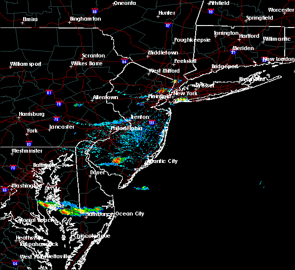 Radar Image for Severe Thunderstorms near Sea Isle City, NJ at 8/9/2019 4:15 PM EDT