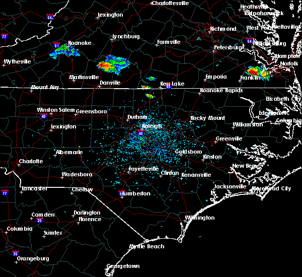 Radar Image for Severe Thunderstorms near Milton, NC at 8/9/2019 4:52 PM EDT