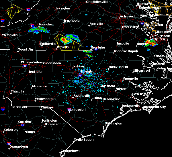 Radar Image for Severe Thunderstorms near Milton, NC at 8/9/2019 5:09 PM EDT