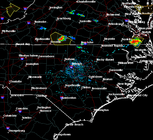 Radar Image for Severe Thunderstorms near Milton, NC at 8/9/2019 5:26 PM EDT
