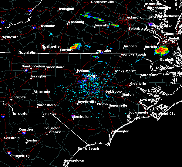 Radar Image for Severe Thunderstorms near Milton, NC at 8/9/2019 5:29 PM EDT