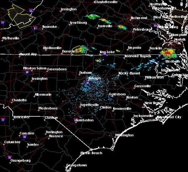 Radar Image for Severe Thunderstorms near Virgilina, VA at 8/9/2019 5:37 PM EDT