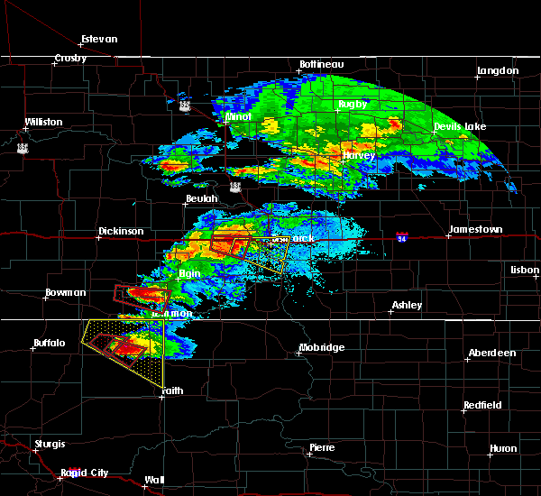 Radar Image for Severe Thunderstorms near Lincoln, ND at 6/21/2015 8:32 PM CDT