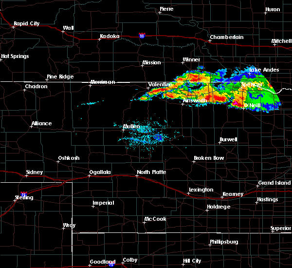 Radar Image for Severe Thunderstorms near Atkinson, NE at 8/9/2019 9:26 PM CDT