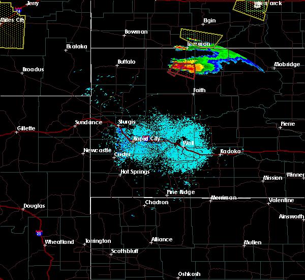 Radar Image for Severe Thunderstorms near Bison, SD at 6/21/2015 7:53 PM MDT