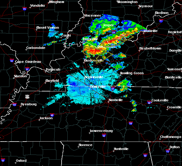 Radar Image for Severe Thunderstorms near Beaver Dam, KY at 6/21/2015 9:00 PM CDT