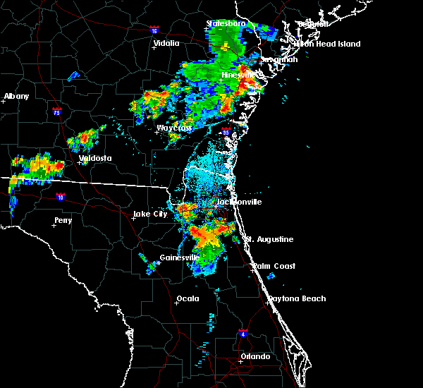 Radar Image for Severe Thunderstorms near Asbury Lake, FL at 8/10/2019 7:33 PM EDT