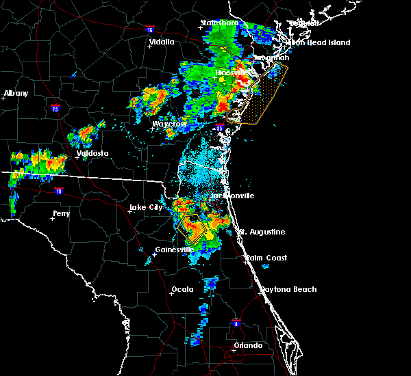 Radar Image for Severe Thunderstorms near Asbury Lake, FL at 8/10/2019 7:39 PM EDT