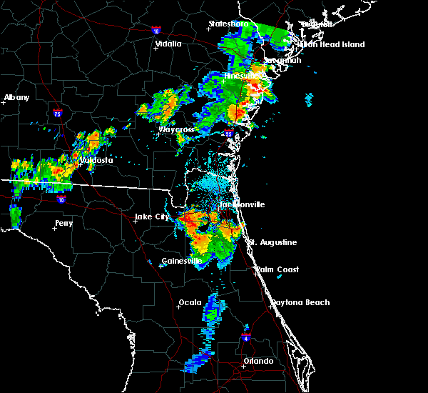 Radar Image for Severe Thunderstorms near Asbury Lake, FL at 8/10/2019 7:54 PM EDT
