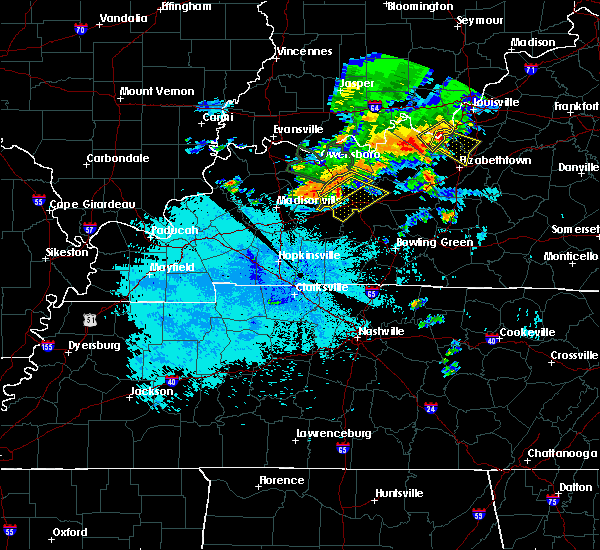 Radar Image for Severe Thunderstorms near South Carrollton, KY at 6/21/2015 9:25 PM CDT
