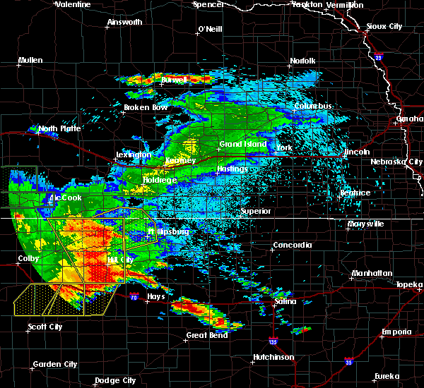 Radar Image for Severe Thunderstorms near Orleans, NE at 8/11/2019 12:44 AM CDT