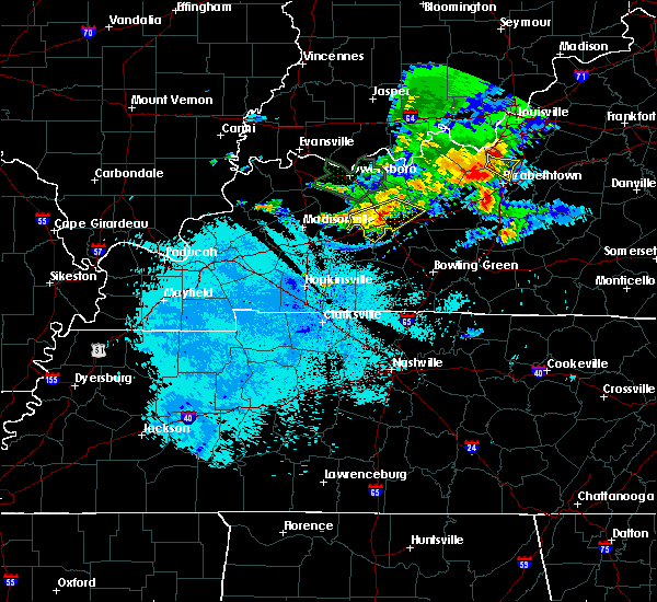 Radar Image for Severe Thunderstorms near South Carrollton, KY at 6/21/2015 9:42 PM CDT