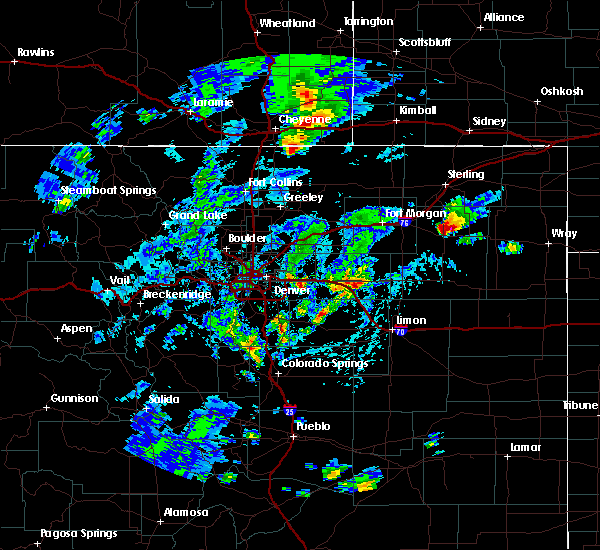 Radar Image for Severe Thunderstorms near Akron, CO at 8/11/2019 3:06 PM MDT