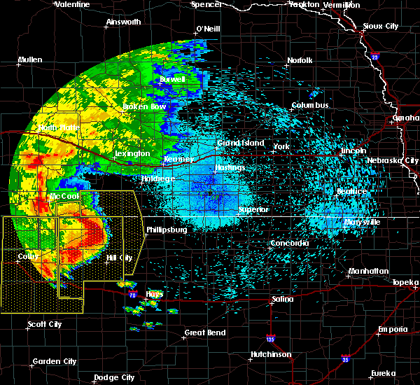 Radar Image for Severe Thunderstorms near Orleans, NE at 8/11/2019 10:43 PM CDT